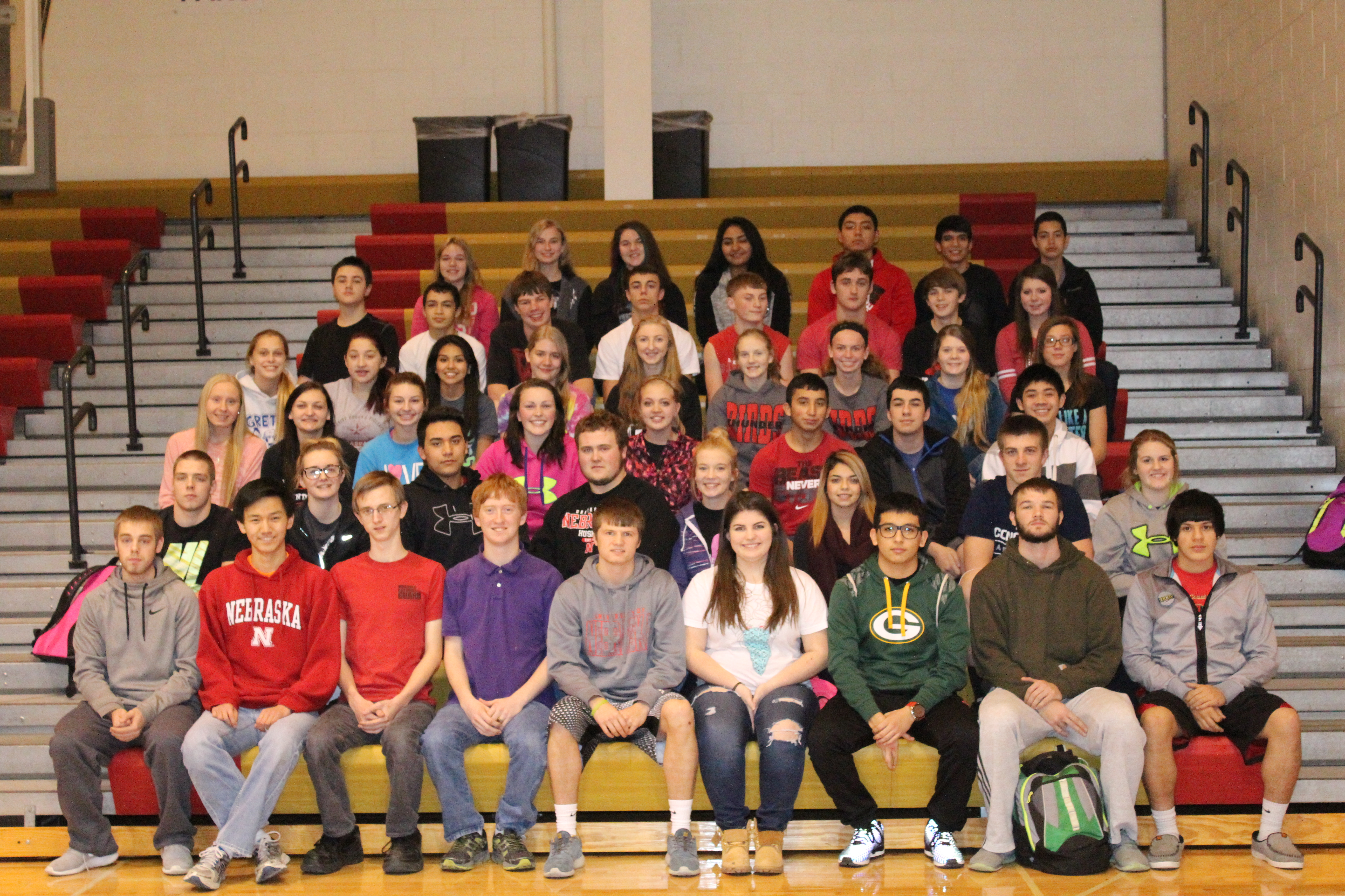 Johnson County Central Second Quarter Honor Roll